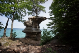Chapel Rock - Pictured Rocks National Lakeshore, MI