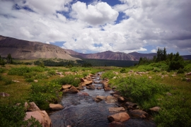 High Uintas Wilderness Backpacking August 2015 028