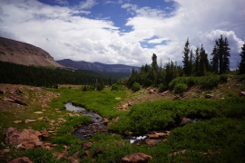 High Uintas Wilderness Backpacking August 2015 029
