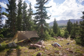 High Uintas Wilderness Backpacking August 2015 030