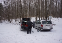 pigeon river winter camping 1