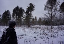 pigeon river winter camping 21