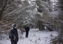 pigeon river winter camping 26