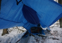 pigeon river winter camping 3