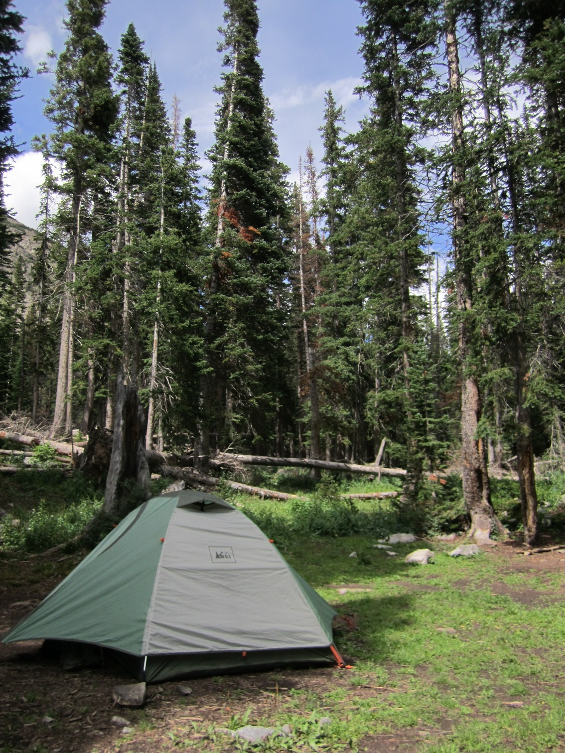 Snowmass Lake Campsite - Seeking Lost: Hiking & Backpacking