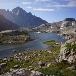 wind river range beautiful indian basin mountains river