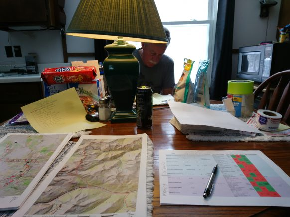 Maps and cdt resupply planning