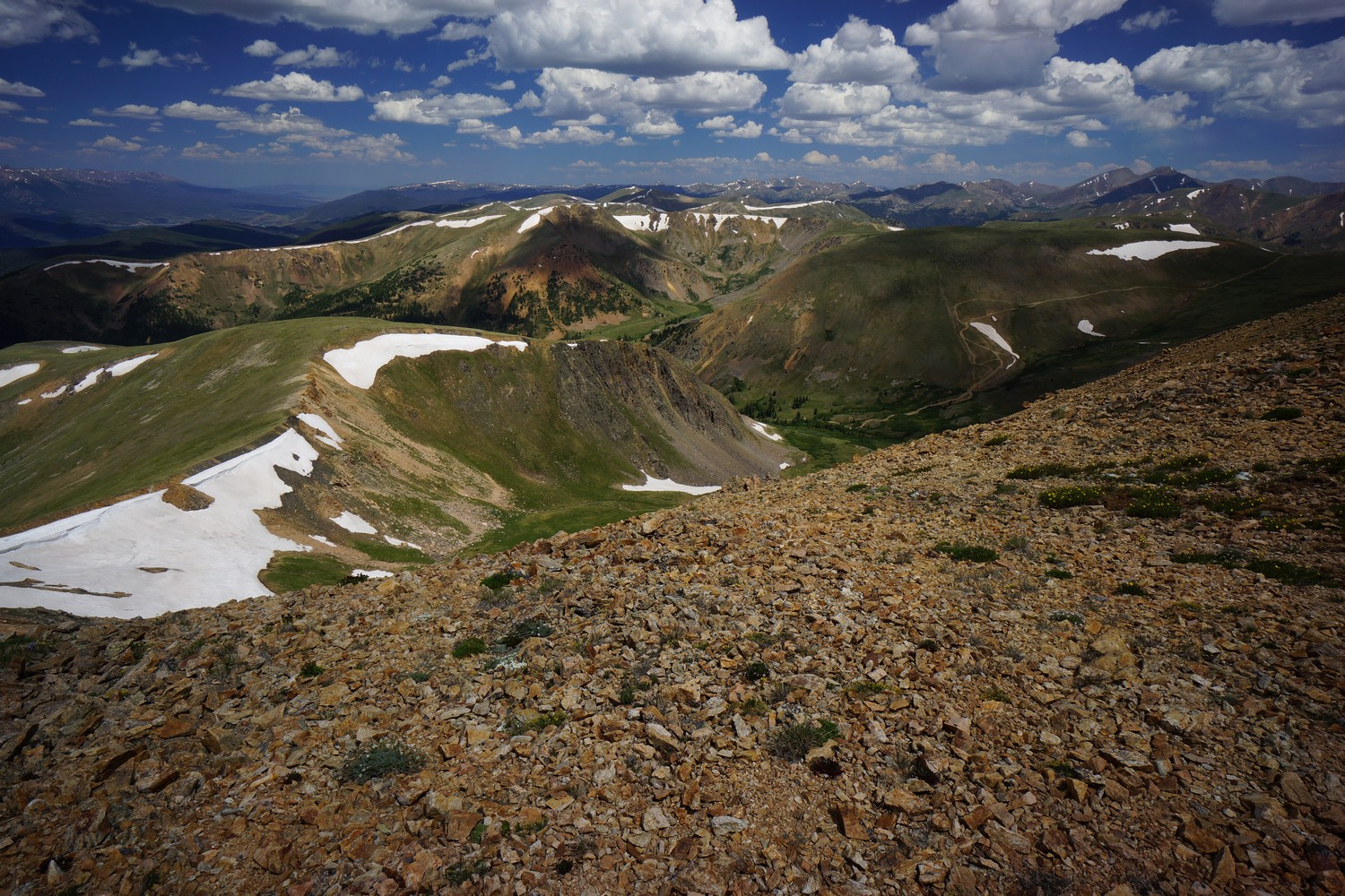 continental divide trail hike photo north of breckenridge