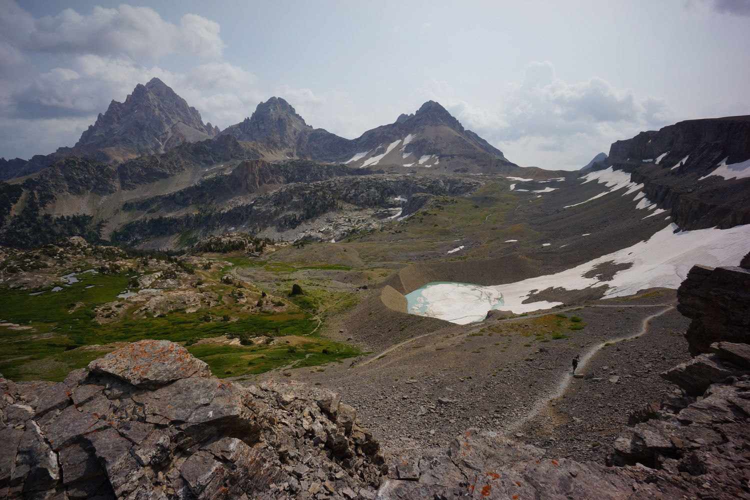 jackson to falgg ranch, teton crest trail hike on the continental divide trail 2018