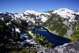 Alpine Lakes Wilderness, WA - West Fork Foss Lakes Trail - June 2016