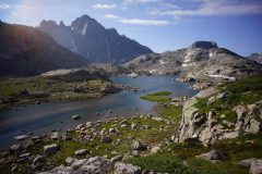 Wind River Range, WY - Green Lakes to Big Sandy - Aug 2014