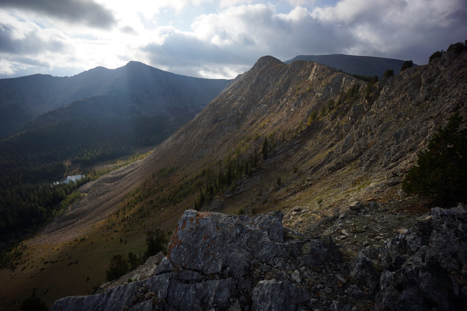 darby to anaconda hike on the continental divide trail 2018