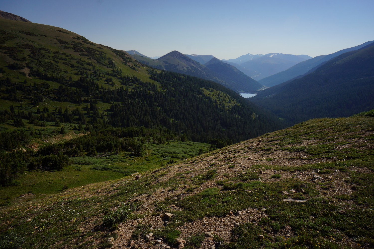 I70 to grand lake hike on the continental divide trail
