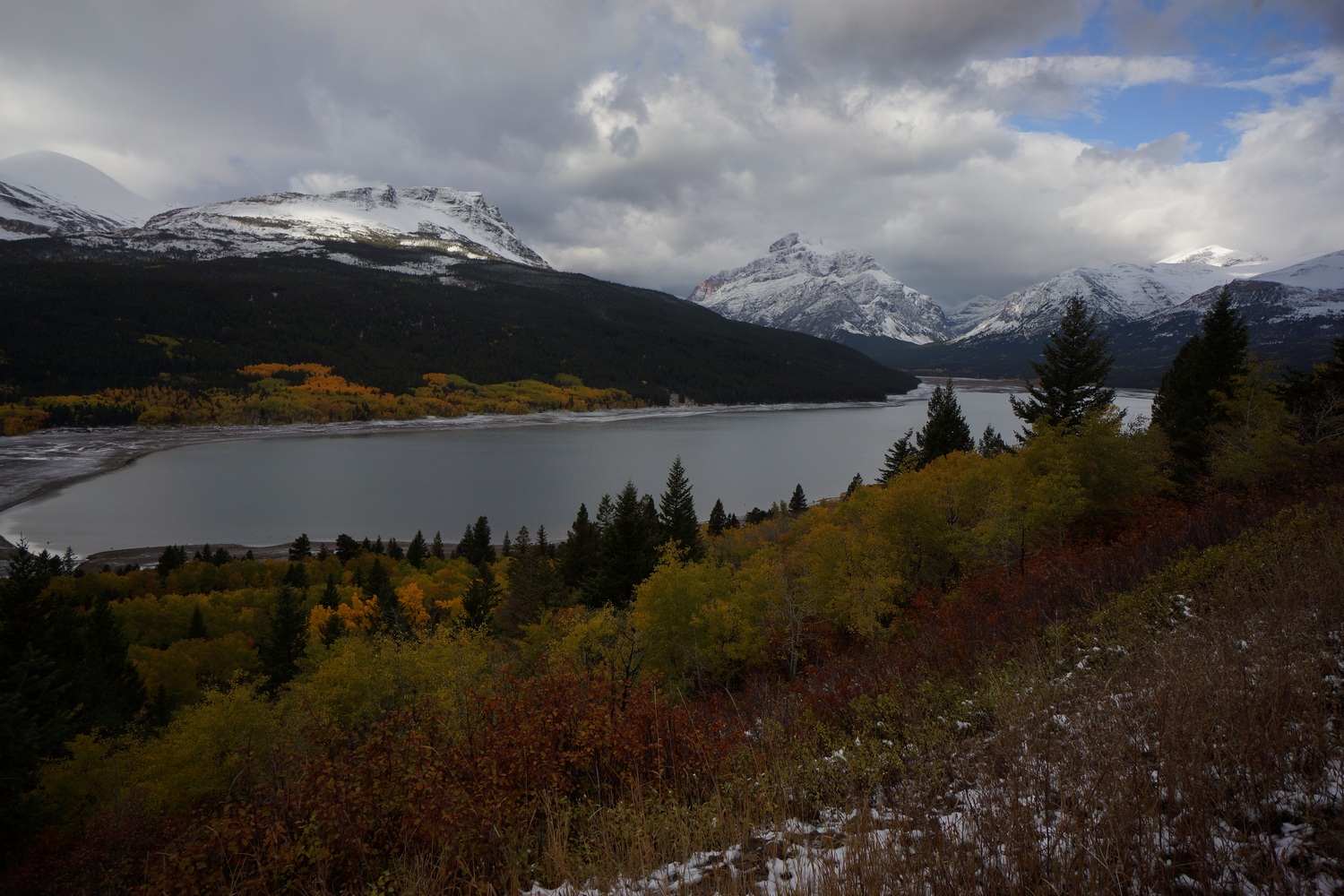 east glacier to canada hike on the continental divide trail 2018