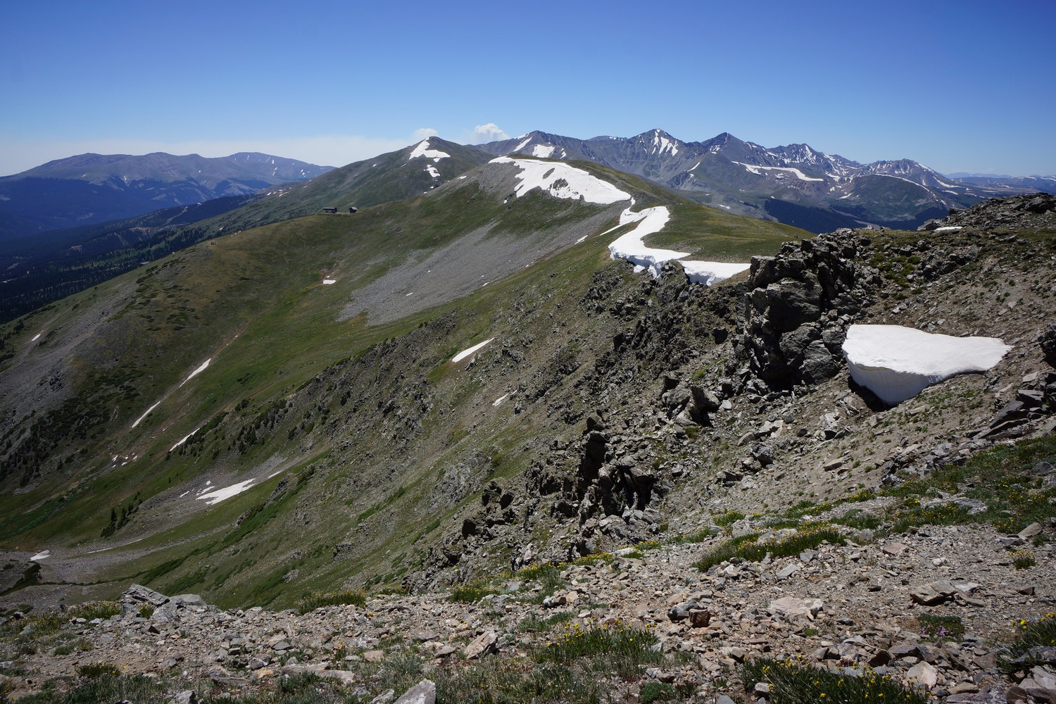 twin lakes to breckenridge hike on the continental divide trail